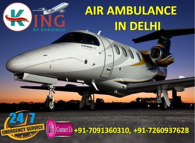 King Air Ambulance in Delhi